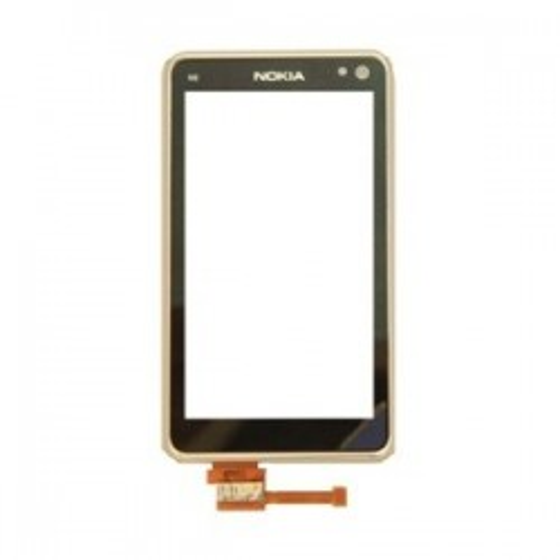 TouchScreen Silver Nokia N8...